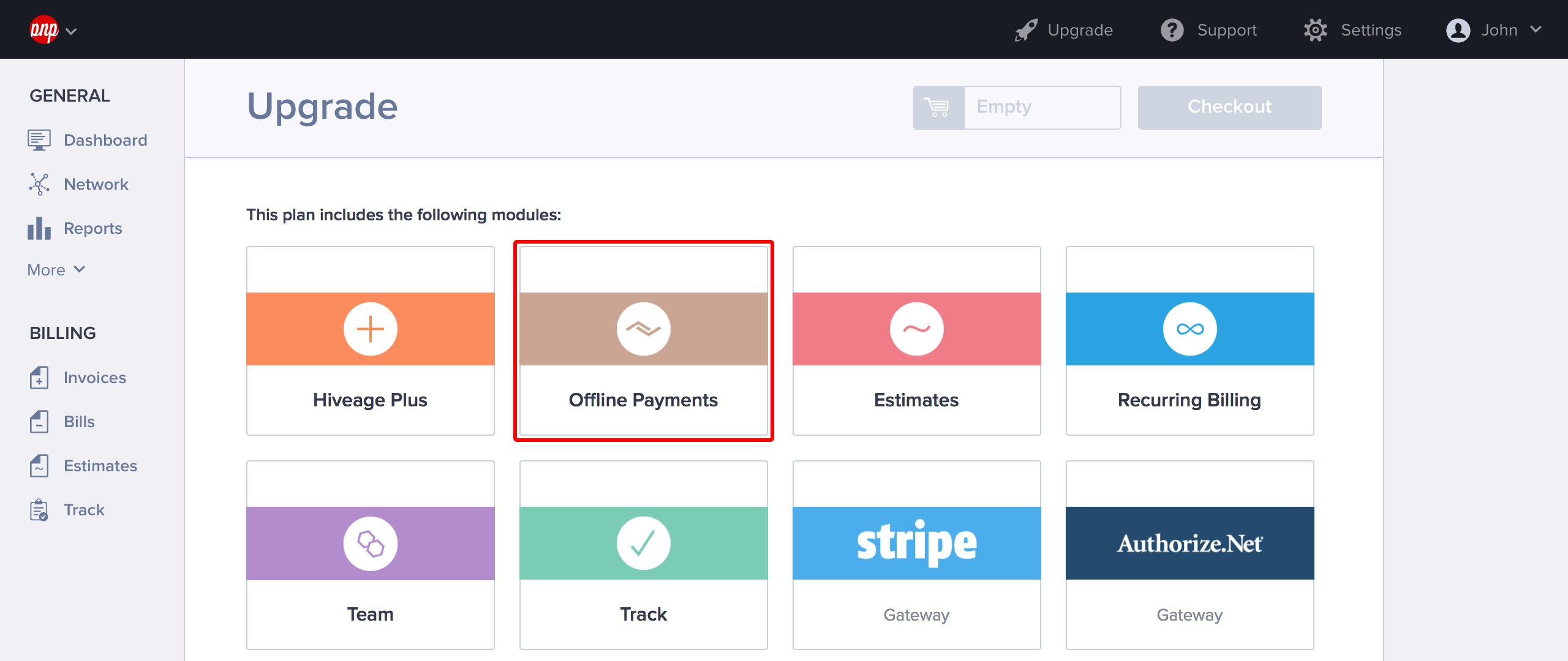 Offline Payments Settings